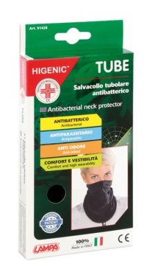 Higenic Tube, salvacollo tubolare antibatterico